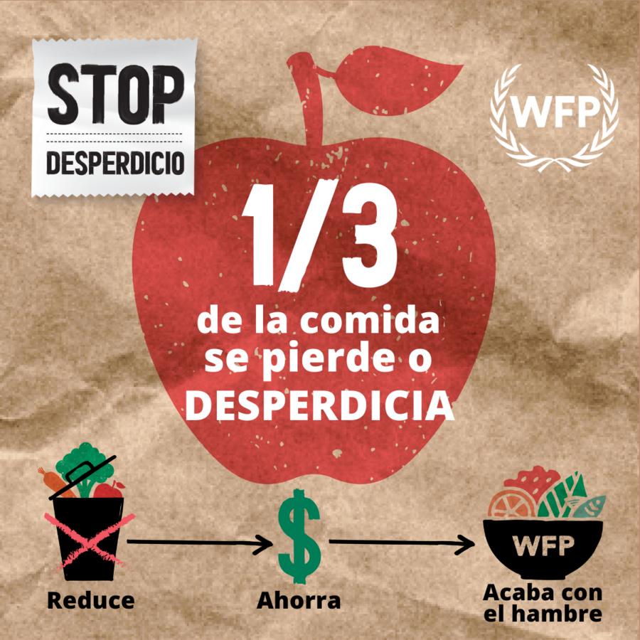 WFP -  Facebook social media Spanish card Apple