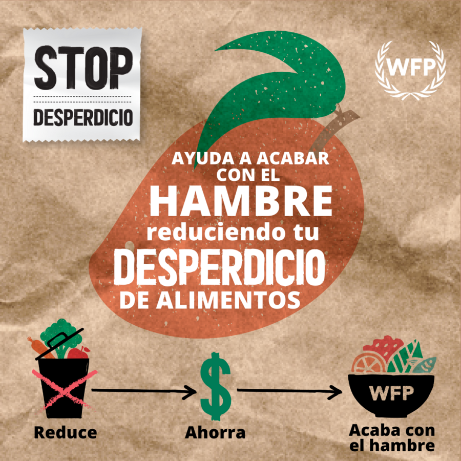 WFP - Instagram Social Media Spanish card Mango