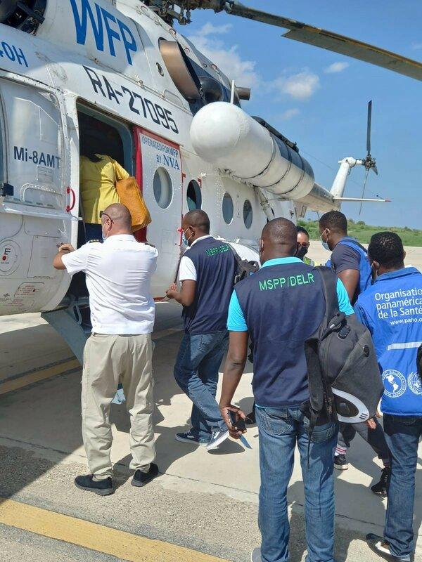 Haiti Earthquake 1 month after 08
