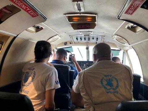 Expertos de WFP brindan apoyo antes y después del huracán Dorian
