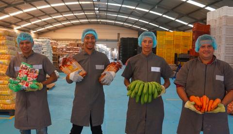 Nueva bodega para la alimentación escolar de más de 60.000 niños y niñas