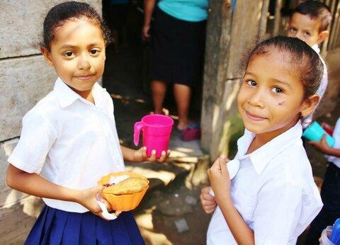 Los múltiples beneficios de las meriendas para los estudiantes en Nicaragua