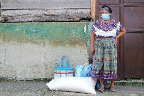 Las secuelas del coronavirus afectan a familias pobres en Guatemala