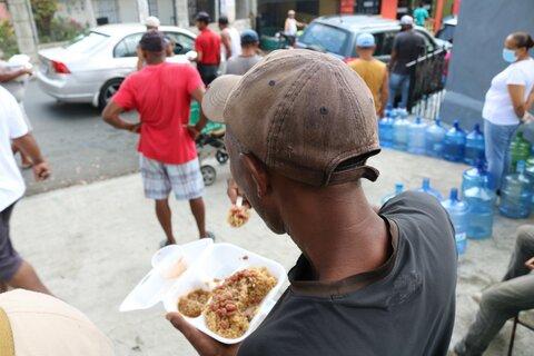 Un día en los comedores de República Dominicana