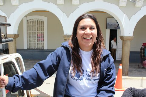 La humanitaria accidental — Mónica Viaña, Bolivia
