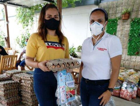 Las canastas mágicas del WFP que apoyan a la población VIH positivo durante la pandemia en Colombia