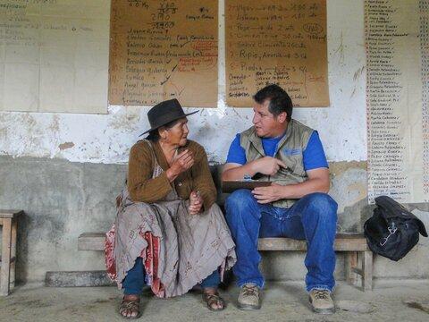 """""""Entiendo la importancia de hablar de tú a tú con personas del campo porque crecí allí"""""""
