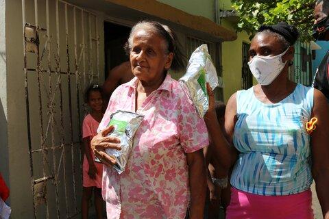 Brindando asistencia durante la pandemia