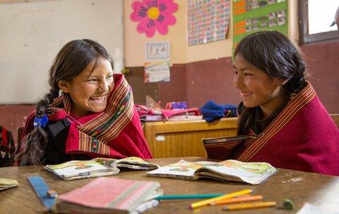 5 datos de la alimentación escolar en Bolivia