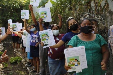 Mujeres indígenas preparadas ante crisis climática