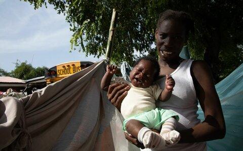 """""""Es difícil ver gente en las calles sin techo para dormir, sobre todo los niños"""""""