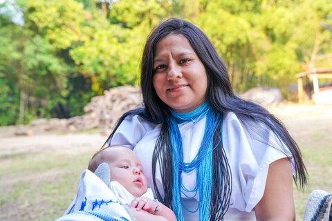 Comunidades indígenas golpeadas por la sequía y la COVID-19 reciben asistencia alimentaria