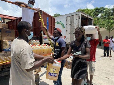 Haití: WFP distribuye asistencia alimentaria a 135.000 personas afectadas por el terremoto