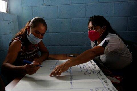 Actividades de resiliencia en Guatemala, planificar con y para las personas