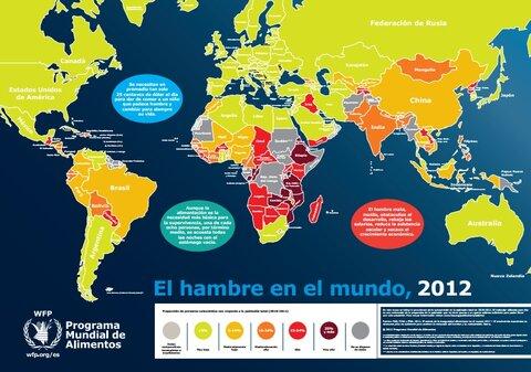 Mapa del Hambre 2012 | World Food Programme