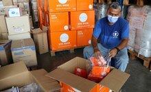 COVID-19: Hub de las Naciones Unidas en Panamá es centro de acopio humanitario regional