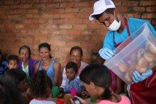 WFP necesita US$196 millones para brindar asistencia alimentaria a migrantes de Venezuela en 2020