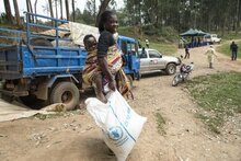 Contenido multimedia de WFP destaca la respuesta al ébola en la República Democrática del Congo