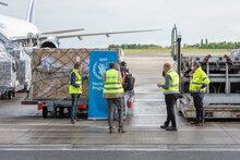 COVID-19: Las entregas aéreas humanitarias a África aumentaron con el envío desde el nuevo centro de carga de la ONU en Bélgica
