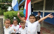 Luxemburgo aporta 1 millón de euros a la merienda escolar en Nicaragua