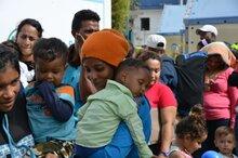 Alemania aporta 1 millón de euros para brindar asistencia alimentaria a personas vulnerables en movilidad humana en Ecuador