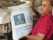 WFP agradece el apoyo de Gran Canaria a los refugiados saharauis