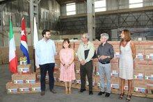 Italia apoya al WFP en respuesta a las afectaciones del tornado en La Habana