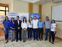 """Plan International, ACNUR y WFP inauguran proyecto """"Modelo de redes de protección y soluciones duraderas"""" en El Salvador"""