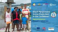 Países del Caribe exploran utilizar los programas de protección social para brindar asistencia durante las emergencias