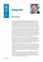 2021 -  Director Ejecutivo del WFP - Biografía
