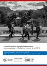Protección social y la migración venezolana en América Latina y el Caribe en el contexto de COVID-19