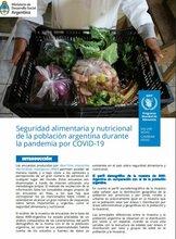 Seguridad alimentaria y nutricional de la población argentina durante la pandemia por COVID-19
