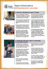 Hoja informativa: Alimentación Escolar