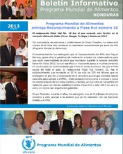 Honduras: boletines informativos mensuales del 2013