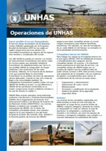 Operaciones de UNHAS