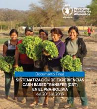Bolivia- Sistematización de Experiencias CBT