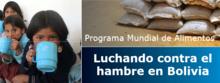Bolivia: PMA luchando contra el hambre