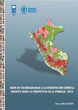 Perú: Mapa de Vulnerabilidad a la desnutrición crónica infantil desde la perspectiva de la pobreza, 2010