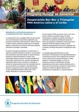 Cooperación Sur-Sur y Triangular PMA en América Latina y el Caribe
