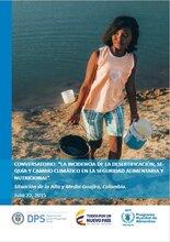 """Conversatorio: """"La incidencia de la desertificación, sequía y cambio climático en la seguridad alimentaria y nutricional"""""""