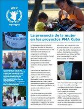 Cuba: La presencia de la mujer en los proyectos PMA Cuba
