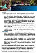 Ecuador: Operación Prolongada de Socorro y Recuperación (PRRO)