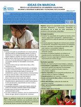 Ecuador: apoyo a las capacidades de los Gobiernos locales para mejorar la seguridad alimentaria y nutricional