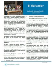 La cooperación del PMA en El Salvador