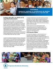 Guatemala: Asistencia mediante la transferencia de efectivo a los afectados por la roya