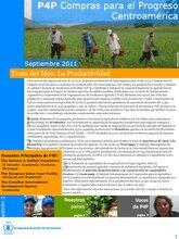 Boletín Compras para el Progreso (P4P) - Centroamérica (Septiembre)