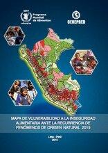 Perú: lanzan mapa de la inseguridad alimentaria y la recurrencia de fenómenos climáticos 2015
