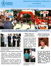 El Salvador: boletines informativos del 2012