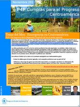 Boletín Compras para el Progreso (P4P) - Centroamérica (Noviembre)