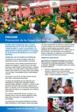 PROSAN Promoción de la Seguridad Alimentaria y Nutricional